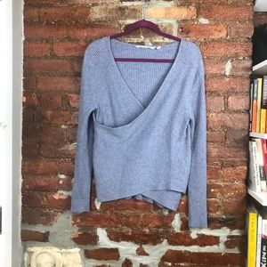Soft Surrounding Shapes You Ribbed Sweater Size L